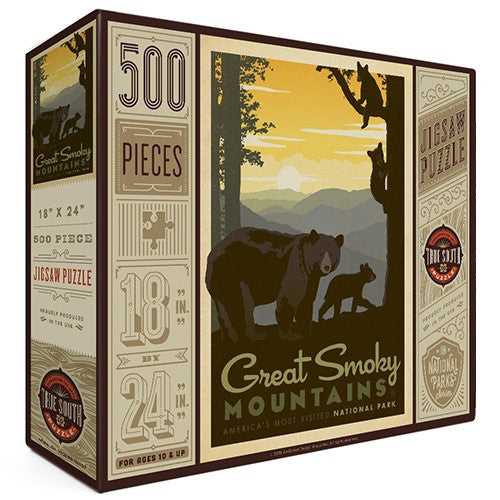 500-Pc. Puzzle: Great Smoky Mtns. National Park