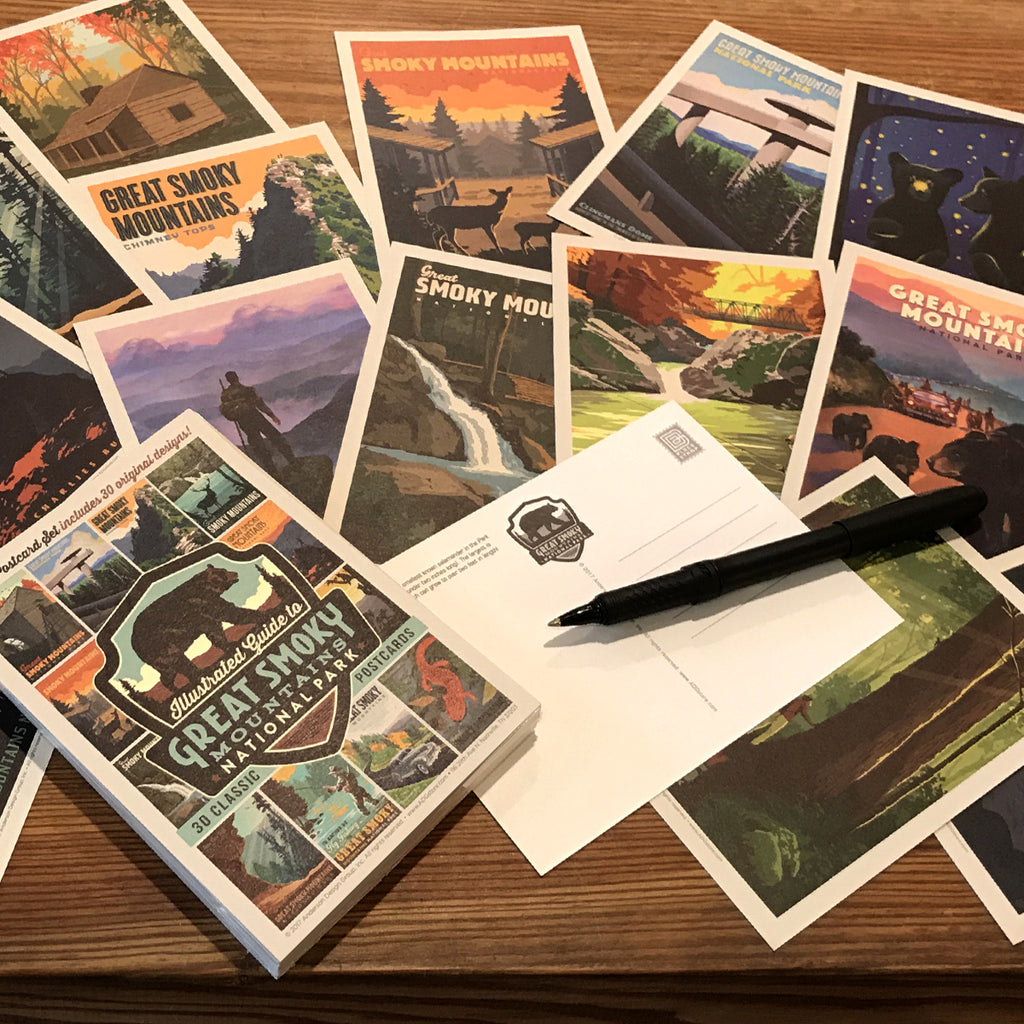 POSTCARDS: Great Smoky Mountains National Park 30-Piece Set