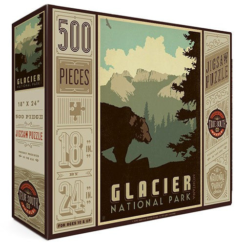 500-Pc. Puzzle: Glacier National Park