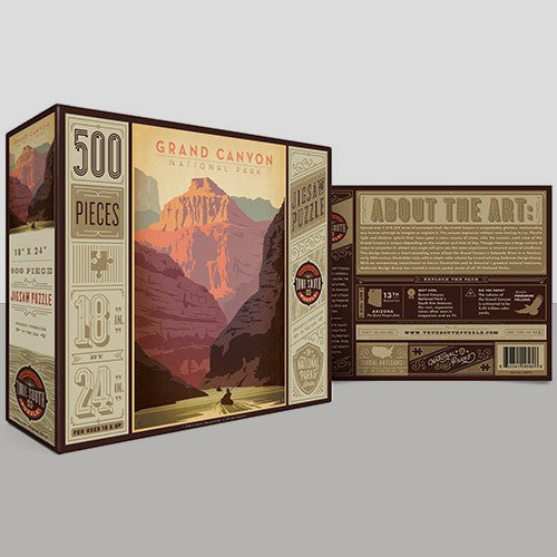 500-Pc. Puzzle: Grand Canyon National Park