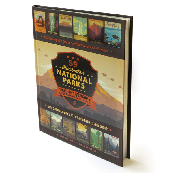 59 National Parks: 100th Anniversary Hard Cover Coffee Table Book (Bargain—40% OFF)
