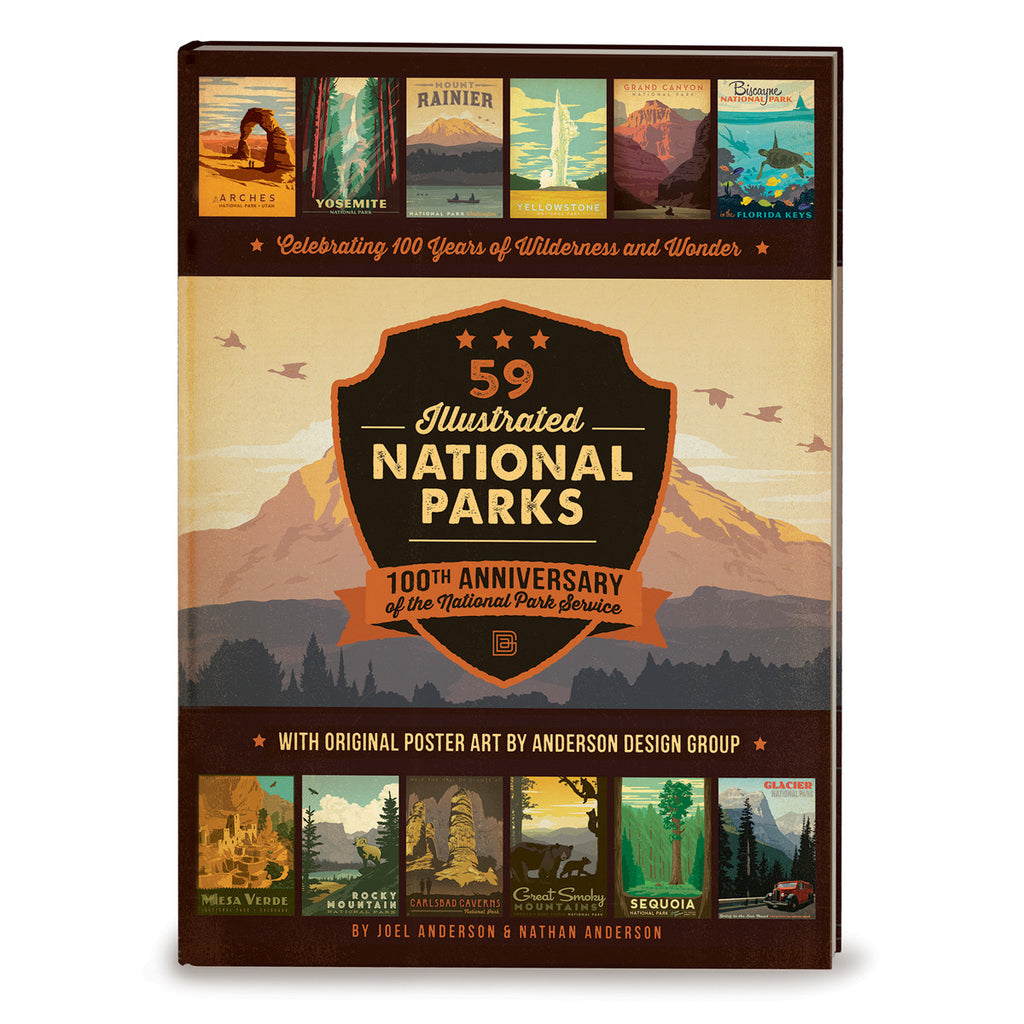National Parks: 160 Page Hard Cover Coffee Table Book