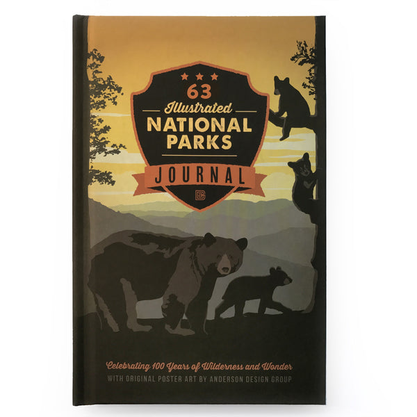National Parks Journal Book