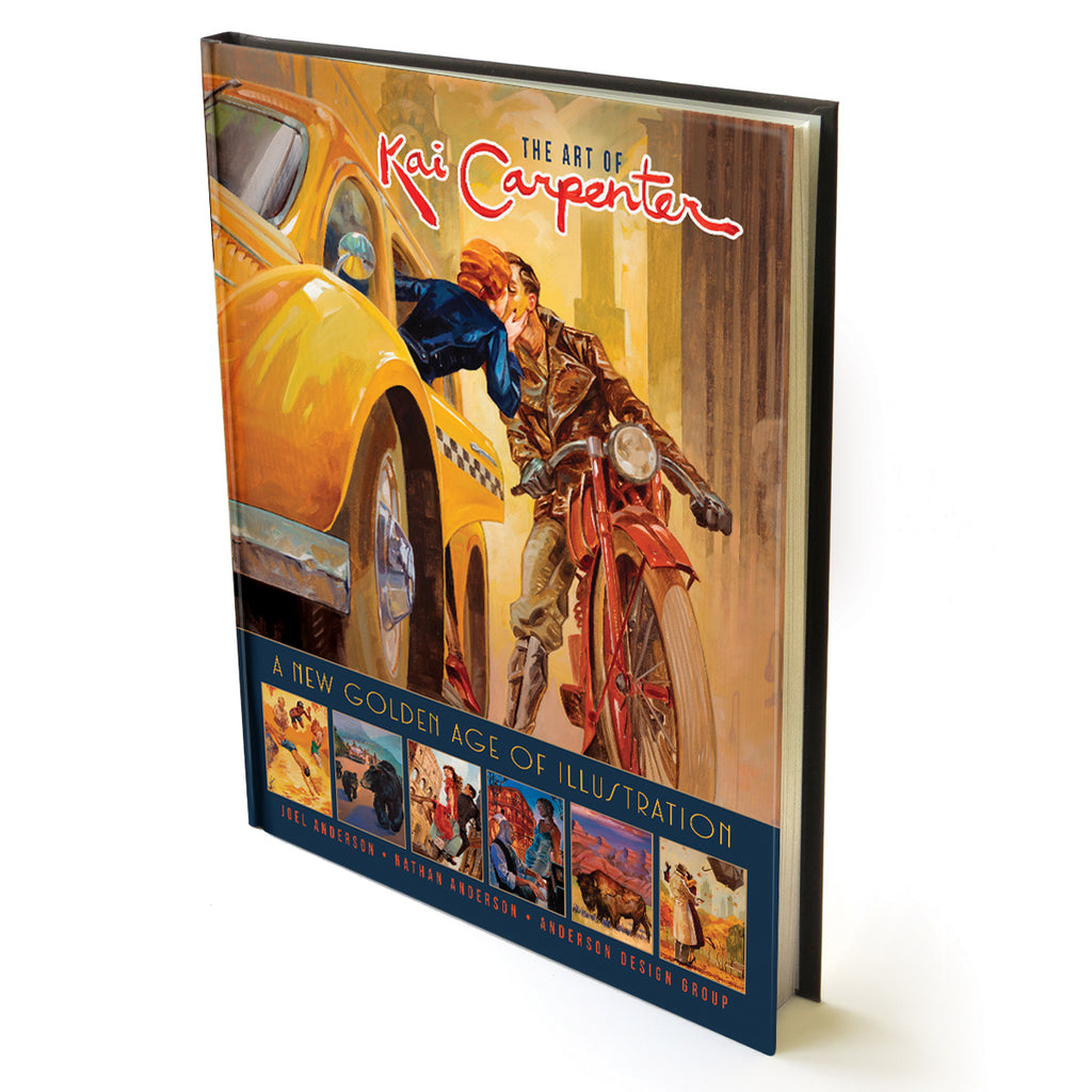 The Art of Kai Carpenter 128-Page Hard Cover Book (Bargain—40% OFF)