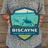 Metal Emblem Sign: NP Biscayne National Park