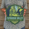 Metal Emblem Sign: NP Cuyahoga Valley National Park