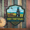 Metal Emblem Sign: NP Dry Tortugas National Park