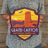 Metal Emblem Sign: NP Grand Canyon National Park