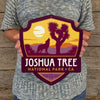 Metal Emblem Sign: NP Joshua Tree National Park