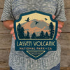Metal Emblem Sign: NP Lassen Volcanic National Park