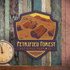 Metal Emblem Sign: NP Petrified Forest National Park