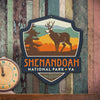 Metal Emblem Sign: NP Shenandoah National Park