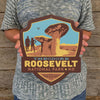 Metal Emblem Sign: NP Theodore Roosevelt National Park