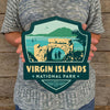 Metal Emblem Sign: NP Virgin Islands National Park