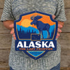 Metal Emblem Sign: SP Alaska