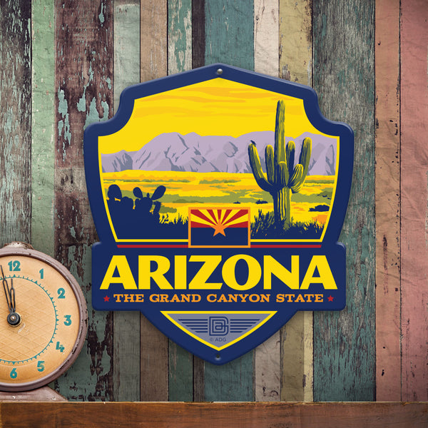Metal Emblem Sign: SP Arizona