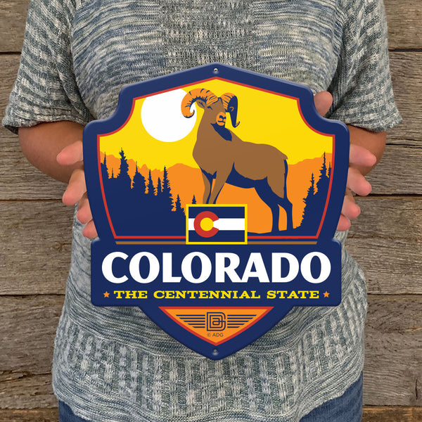 Metal Emblem Sign: SP Colorado