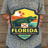 Metal Emblem Sign: SP Florida