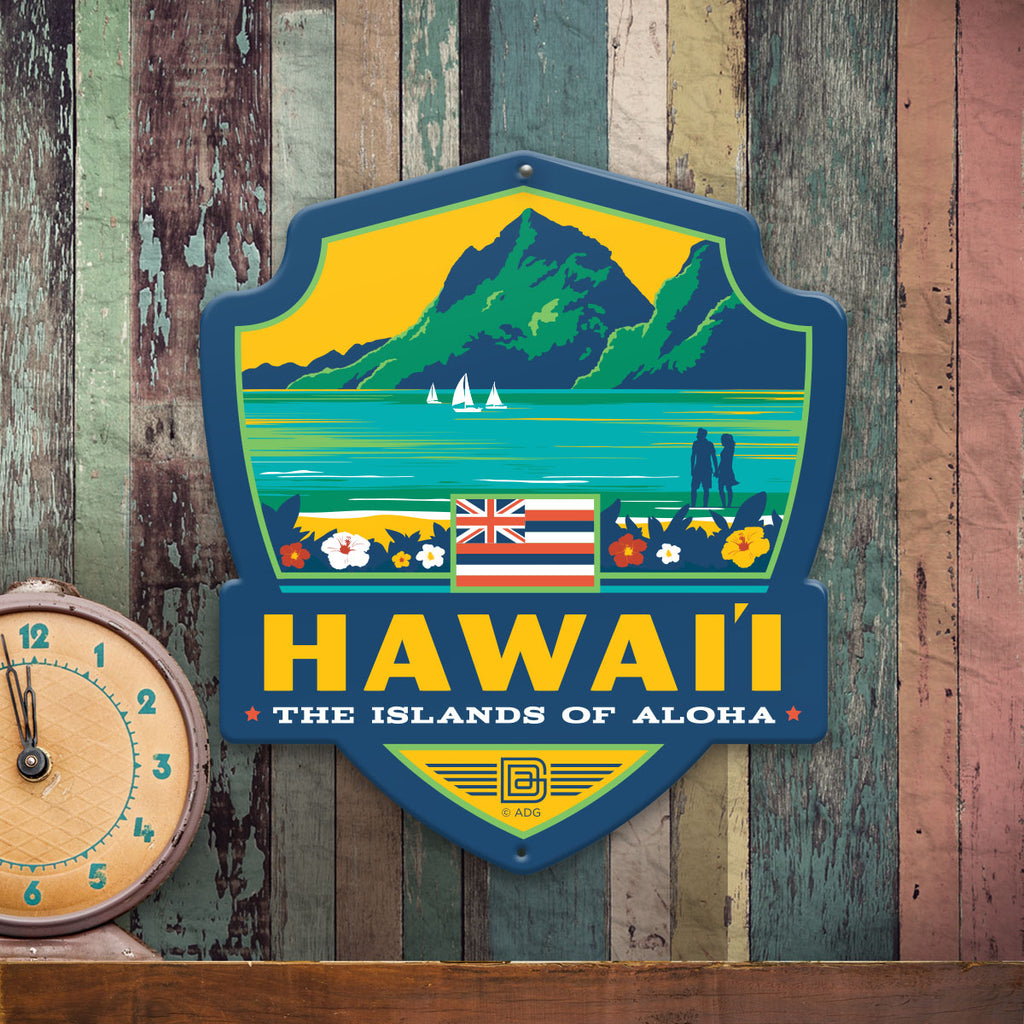 Metal Emblem Sign: SP Hawaii