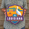 Metal Emblem Sign: SP Louisiana