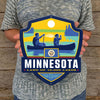 Metal Emblem Sign: SP Minnesota