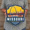 Metal Emblem Sign: SP Missouri