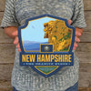Metal Emblem Sign: SP New Hampshire