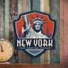 Metal Emblem Sign: SP New York
