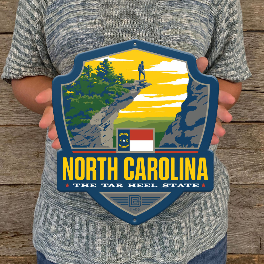 Metal Emblem Sign: SP North Carolina