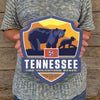 Metal Emblem Sign: SP Tennessee