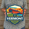 Metal Emblem Sign: SP Vermont