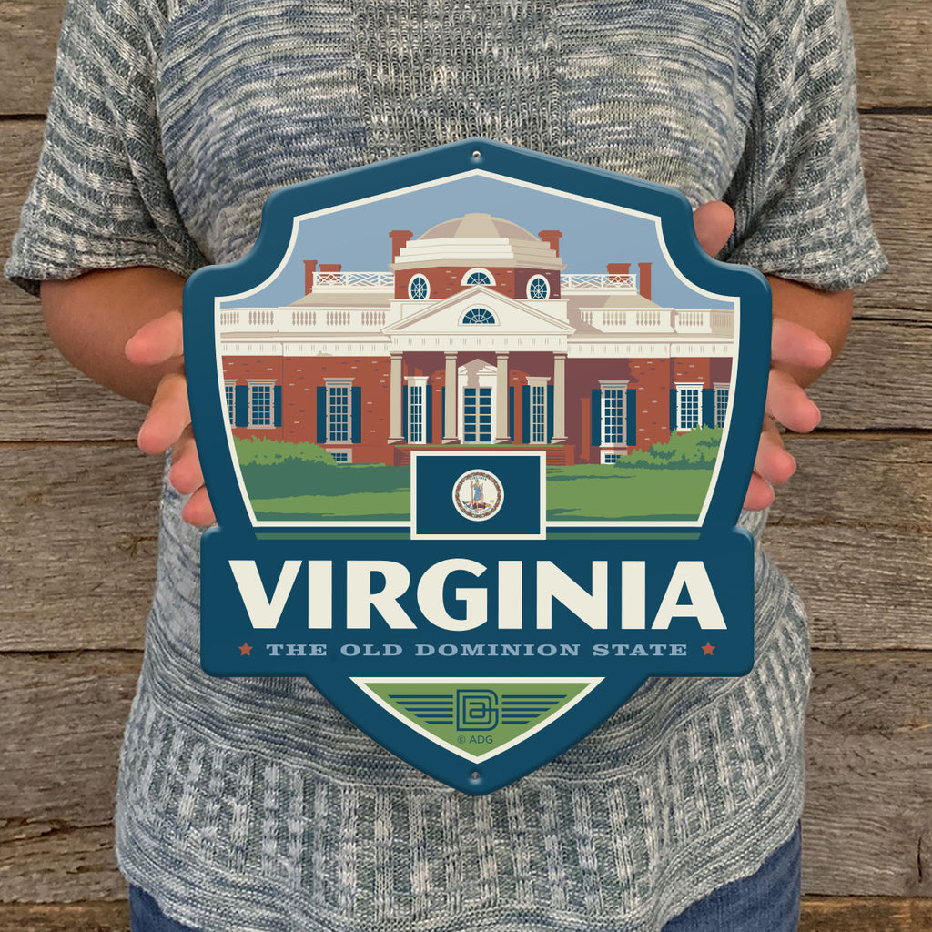 Metal Emblem Sign: SP Virginia