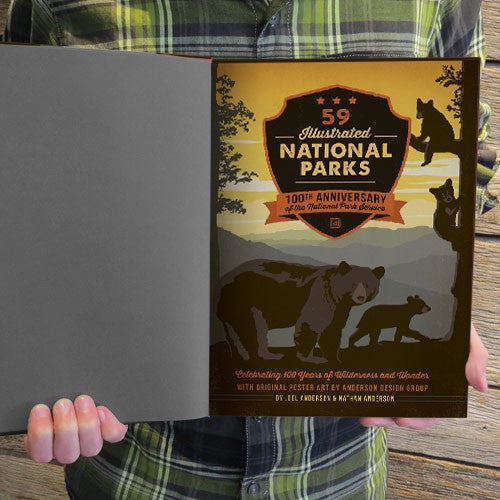 National Parks: 100th Anniversary Hard Cover Coffee Table Book