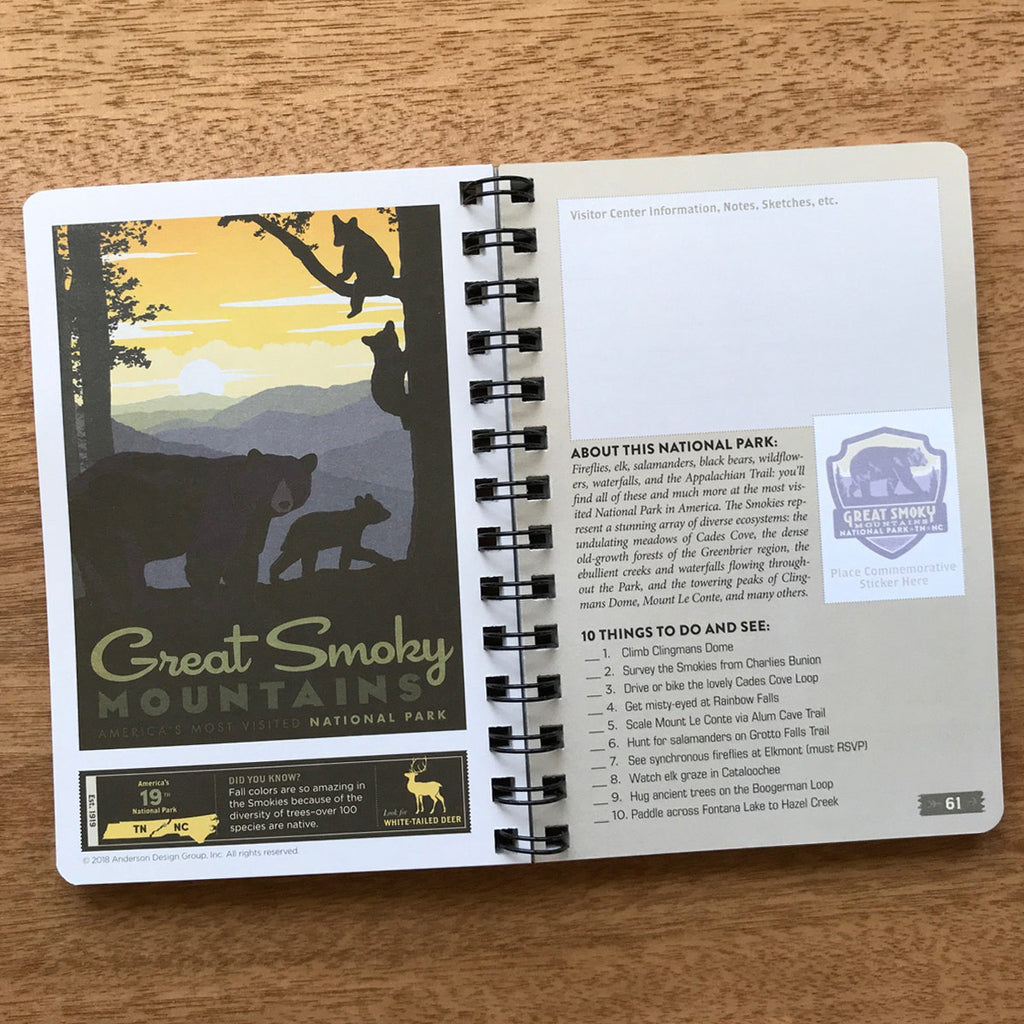 National Park Adventure Guide Book (62-Park Edition)