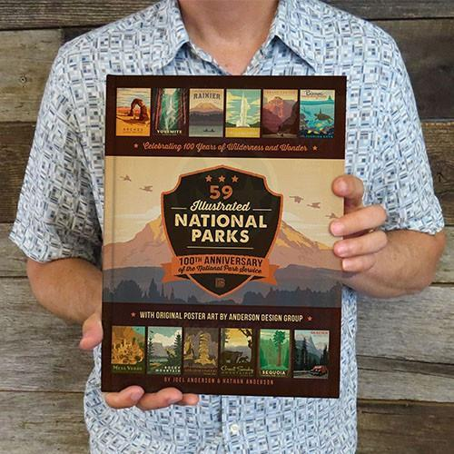 National Parks: 160-page Hard Cover Coffee Table Book