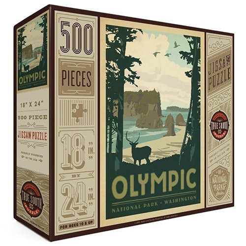 500-Pc. Puzzle: Olympic National Park