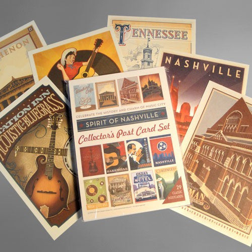 Spirit of Nashville 29 Pc. Postcard Set