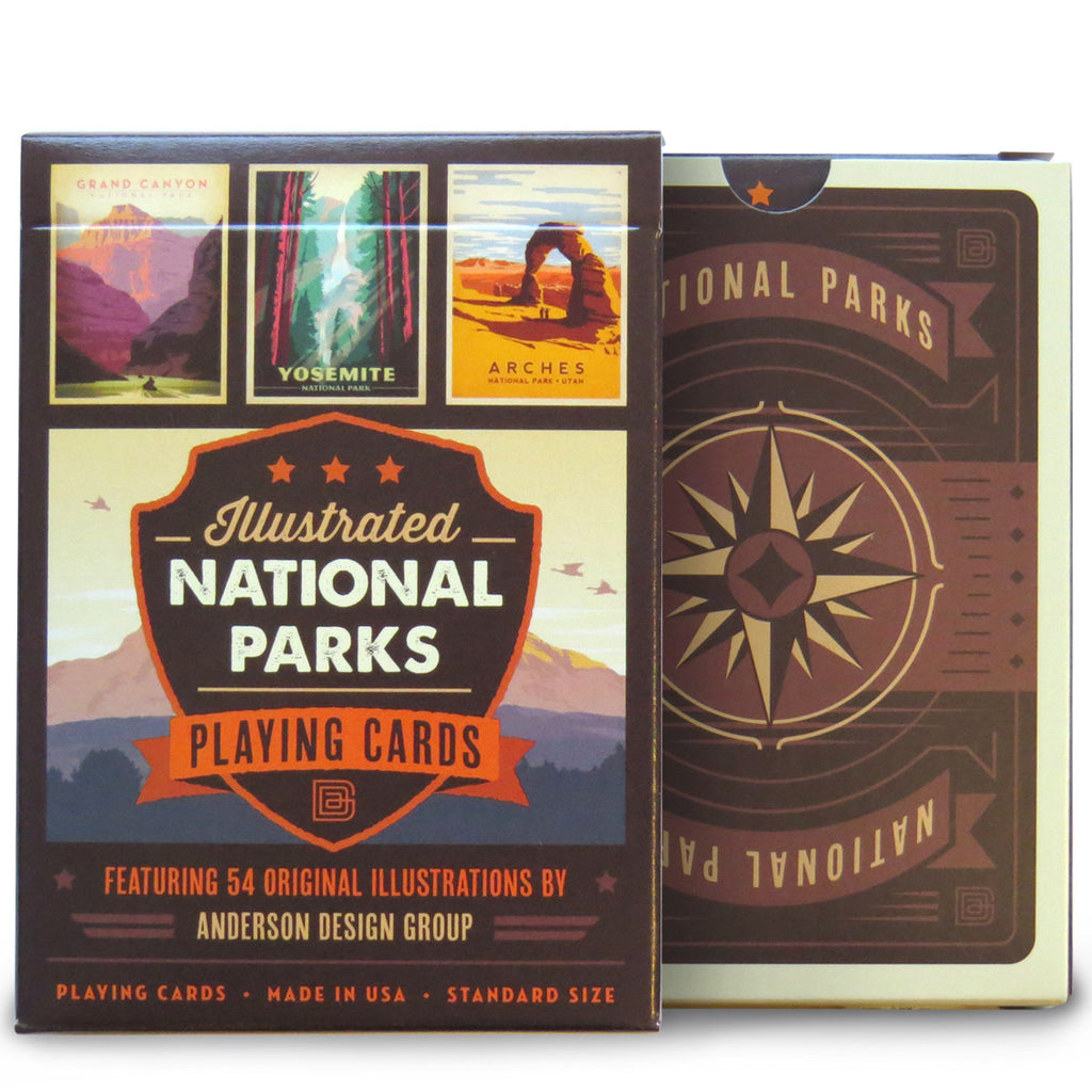 National Parks: Playing Cards