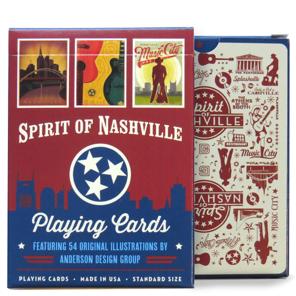 Spirit of Nashville: Playing Cards
