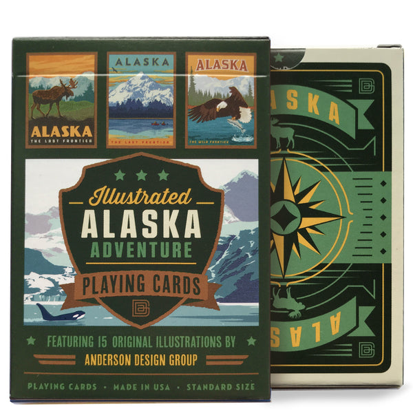 Playing Cards: Alaska Adventure