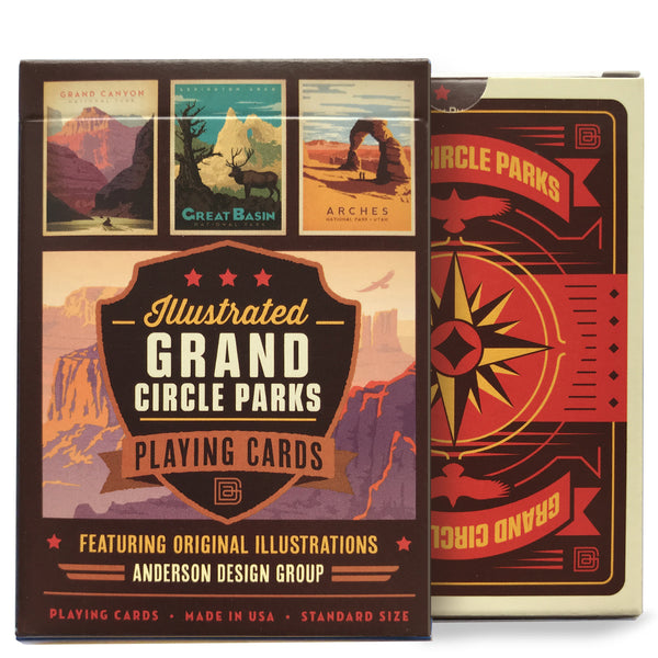 Playing Cards: Grand Circle Parks