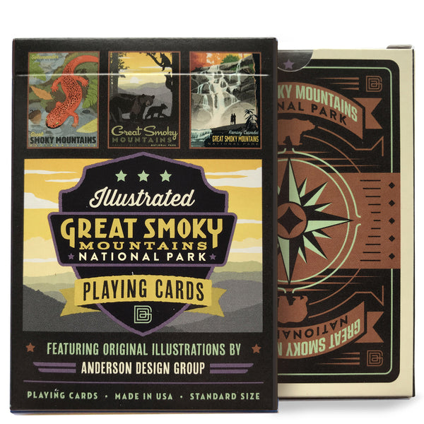 Playing Cards: Great Smoky Mountains National Park