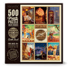 500-Pc. Puzzle: World Travel by Kai Carpenter (Bargain—35% OFF!)