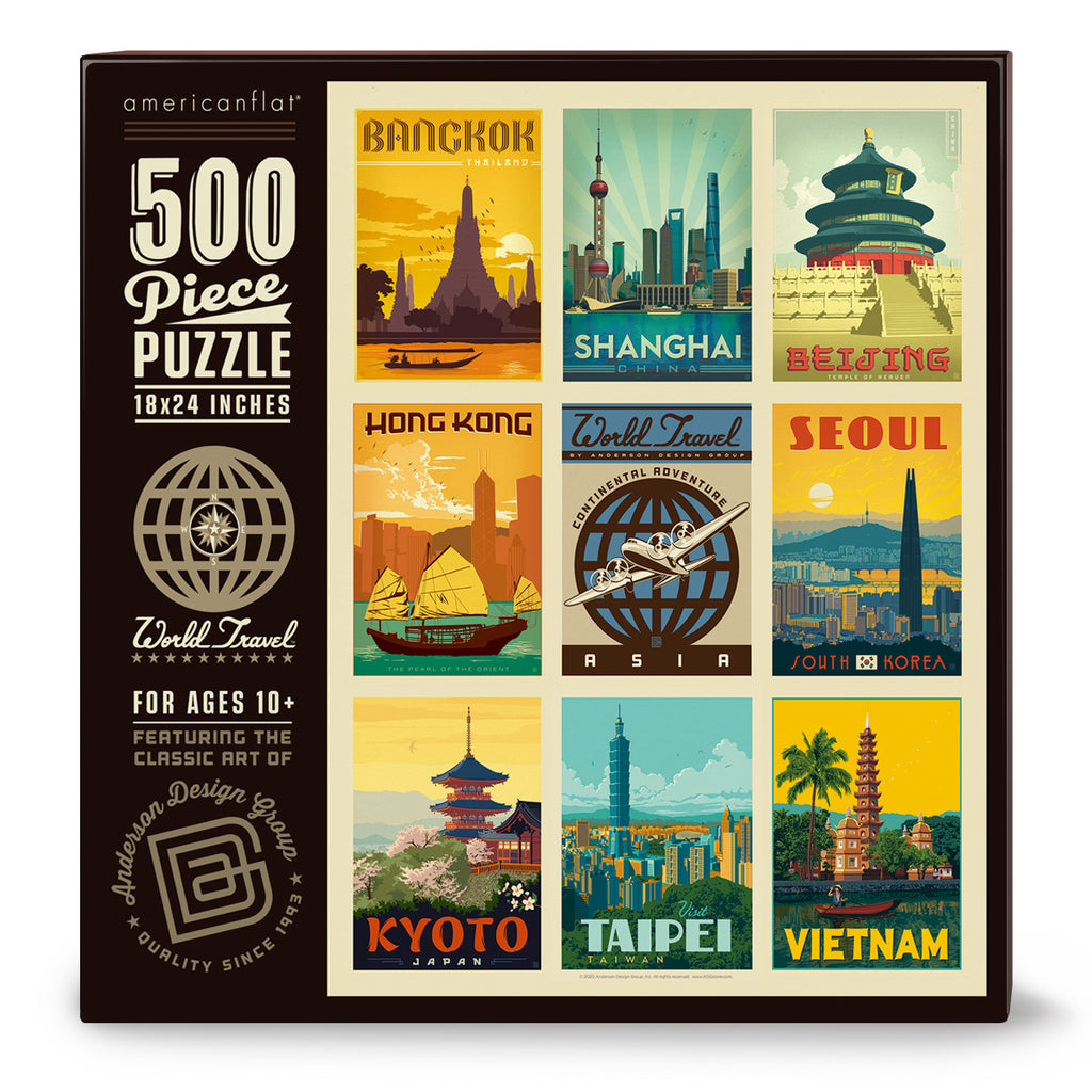 500-Pc. Puzzle: World Travel: Asia