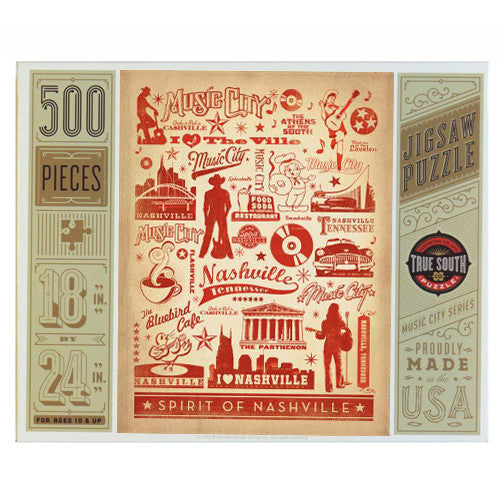 S.O.N. 500-pc Puzzle: Pattern Print