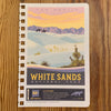 White Sands Insert Page & Sticker for National Park Adventure Guide Book