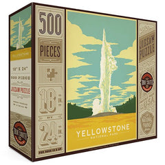 500-Pc. Puzzle: Yellowstone National Park