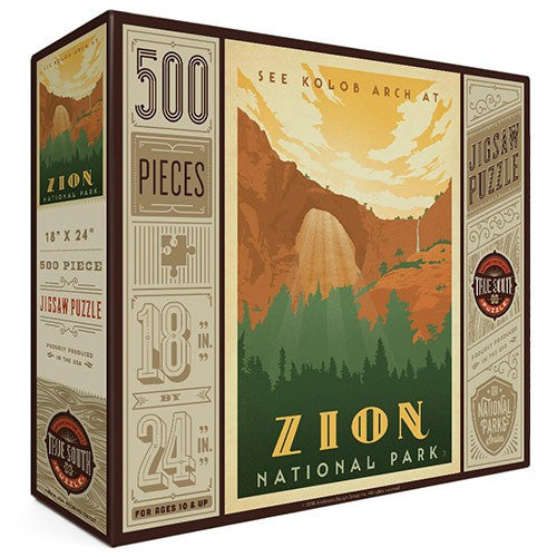 500-Pc. Puzzle: Zion National Park