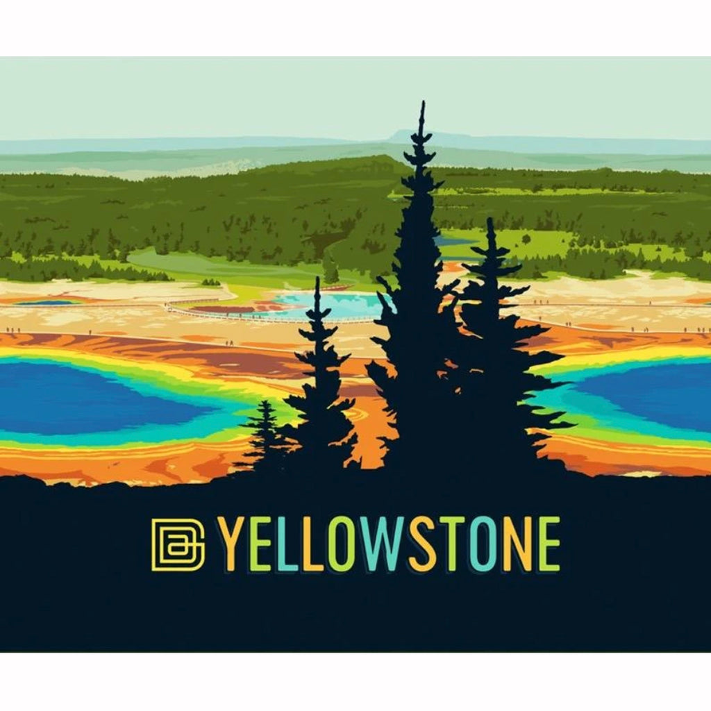 National Park Socks: Yellowstone