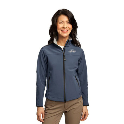 Ladies Glacier® Soft Shell Jacket in Atlantic Blue